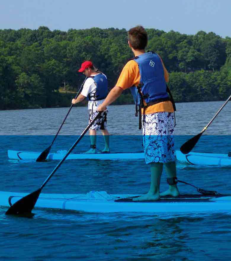 Stand Up Paddleboard Trips (SUP)